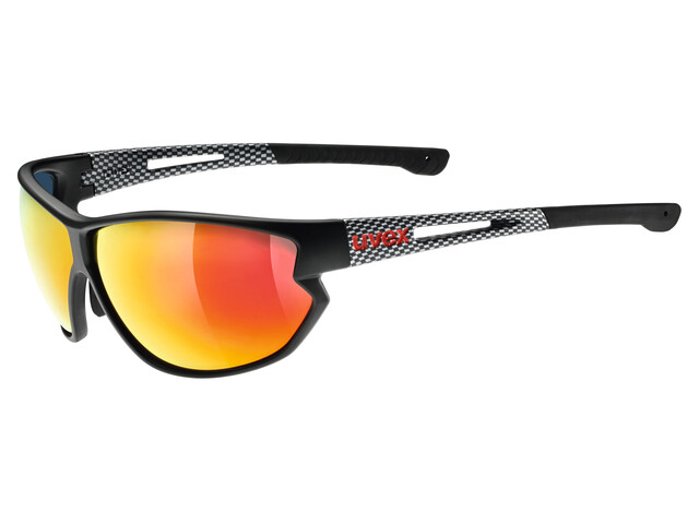 UVEX sportstyle 810 Glasses black mat carbon